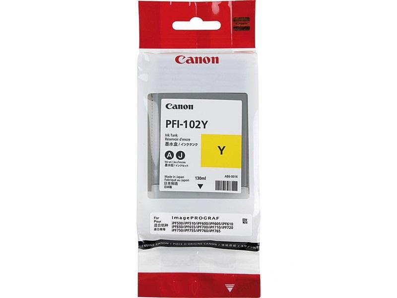 Canon PFI-102Y Sarı Orjinal Kartuş