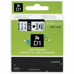 Dymo - Dymo 40913 Beyaz Üzerine Siyah Muadil Etiket