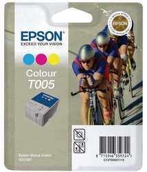Epson - Epson T005-C13T00501120 Orjinal Renkli Kartuş