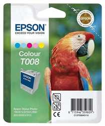 Epson - Epson T008-C13T00840120 Orjinal Renkli Kartuş