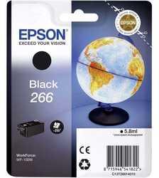 Epson - Epson T266-C13T26614010 Siyah Orjinal Kartuş