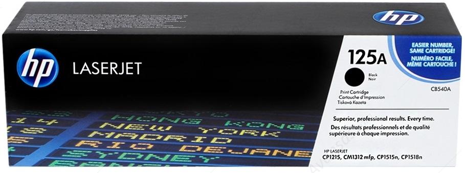 Hp 125A-CB540A Orjinal Siyah Toner