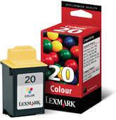 Lexmark - Lexmark 20-15MX120E Orjinal Renkli Kartuş