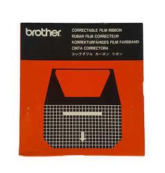 Brother - Brother EM-200 Kırmızı Orjinal Daktilo Şerit