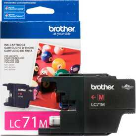 Brother - Brother LC71M Kırmızı Orjinal Kartuş