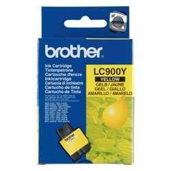 Brother - Brother LC900Y Sarı Orjinal Kartuş