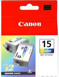 Canon - Canon BCI-15 Orjinal Renkli Kartuş