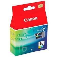 Canon - Canon BCI-16C Renkli Orjinal Kartuş