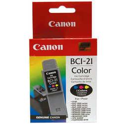Canon - Canon BCI-21 Orjinal Renkli Kartuş