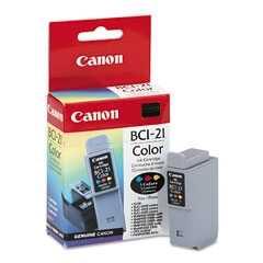 Canon - Canon BCI-21C Renkli Orjinal Mürekkep Kartuş