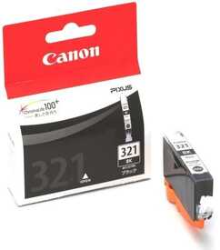 Canon - Canon BCI-321BK Siyah Orjinal Kartuş