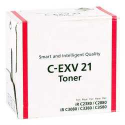 Canon - Canon C-EXV-21 Muadil Kırmızı Fotokopi Toner