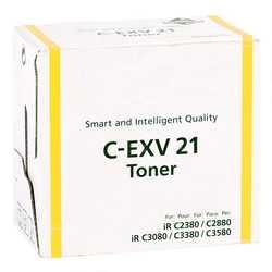 Canon - Canon C-EXV-21 Muadil Sarı Fotokopi Toner