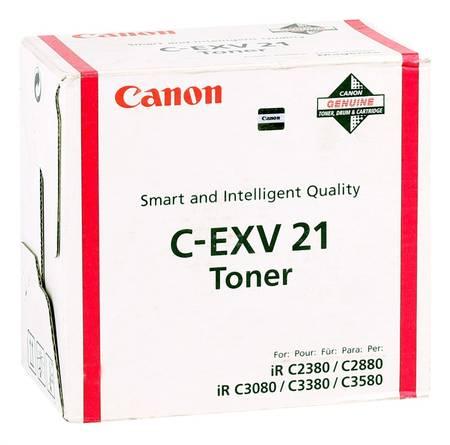 Canon C-EXV-21 Orjinal Kırmızı Fotokopi Toner