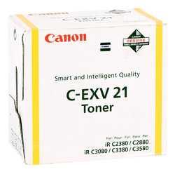 Canon - Canon C-EXV-21 Orjinal Sarı Fotokopi Toner