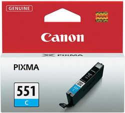 Canon - Canon CLI-551 Orjinal Mavi Kartuş