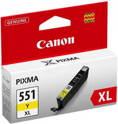 Canon - Canon CLI-551XL Orjinal Sarı Kartuş