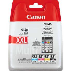 Canon - Canon CLI-581XXL Multipack 4'lü Set Orjinal Kartuş