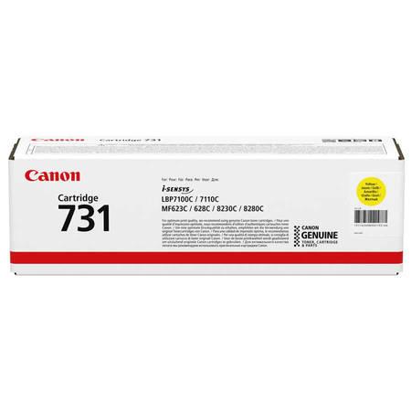 Canon CRG-731 Sarı Orjinal Toner