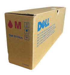 Dell - Dell 5110cn-CT200842 Kırmızı Orjinal Toner