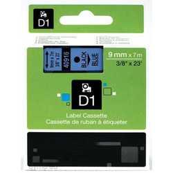 Dymo - Dymo 40916 Mavi Üzerine Siyah Muadil Etiket