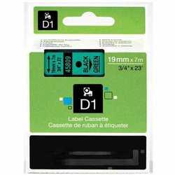 Dymo - Dymo 45809 Yeşil Üzerine Siyah Muadil Etiket