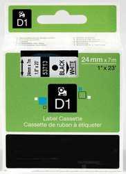Dymo - Dymo 53713 Beyaz Üzerine Siyah Muadil Etiket