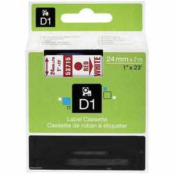 Dymo - Dymo 53715 Beyaz Üzerine Kırmızı Muadil Etiket