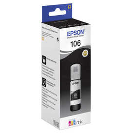 Epson - Epson 106-C13T00R140 Foto Siyah Orjinal Mürekkep