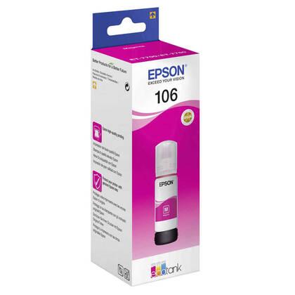 Epson 106-C13T00R340 Kırmızı Orjinal Mürekkep