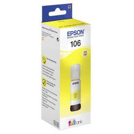 Epson - Epson 106-C13T00R440 Sarı Orjinal Mürekkep