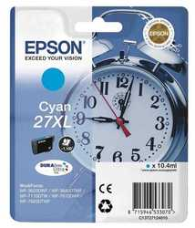 Epson - Epson 27XL-T2712-C13T27124020 Mavi Orjinal Kartuş