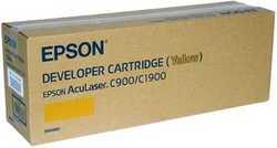 Epson - Epson C900 C1900-C13S050097 Orjinal Sarı Toner YK.