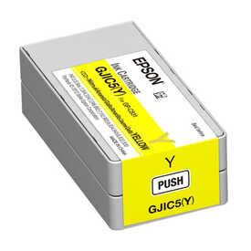 Epson - Epson GJIC5-C13S020566 Sarı Orjinal Kartuş