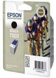 Epson - Epson T003-C13T00301220 Orjinal Siyah Kartuş 2'Li