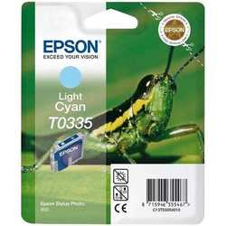 Epson - Epson T0335-C13T03354020 Orjinal Açık Mavi Kartuş