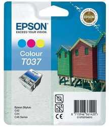 Epson - Epson T037-C13T03704020 Orjinal Renkli Kartuş