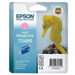 Epson - Epson T0486-C13T04864020 Orjinal Açık Kırmızı Kartuş