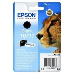 Epson - Epson T0711-C13T07114020 Orjinal Siyah Kartuş