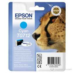 Epson - Epson T0712-C13T07124020 Orjinal Mavi Kartuş