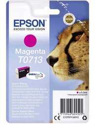 Epson - Epson T0713-C13T07134020 Orjinal Kırmızı Kartuş