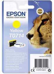 Epson - Epson T0714-C13T07144020 Orjinal Sarı Kartuş