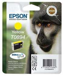Epson - Epson T0894-C13T08944020 Orjinal Sarı Kartuş