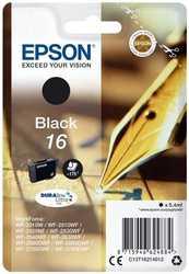 Epson - Epson T1621-C13T16214020 Siyah Orjinal Kartuş