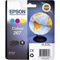 Epson - Epson T267-C13T26704010 Renkli Orjinal Kartuş