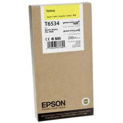 Epson - Epson T6534-C13T653400 Orjinal Sarı Kartuş