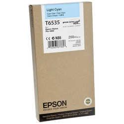 Epson - Epson T6535-C13T653500 Orjinal Açık Mavi Kartuş