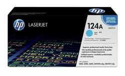 Hp - Hp 124A-Q6001A Mavi Orjinal Toner