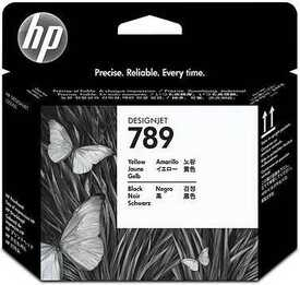 Hp - HP 789 CH612A Sarı Siyah Kafa Kartuşu