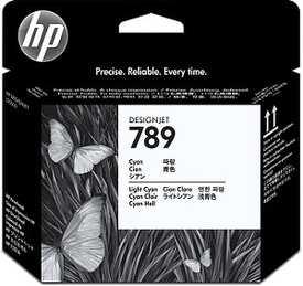 Hp - HP 789 CH613A Mavi - Açık Mavi Kafa Kartuşu